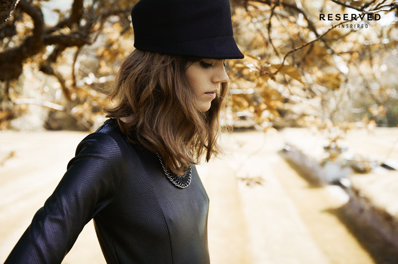 reserved fall ads9 Freja Beha Erichsen Exudes Cool for Reserveds Fall 2013 Ads