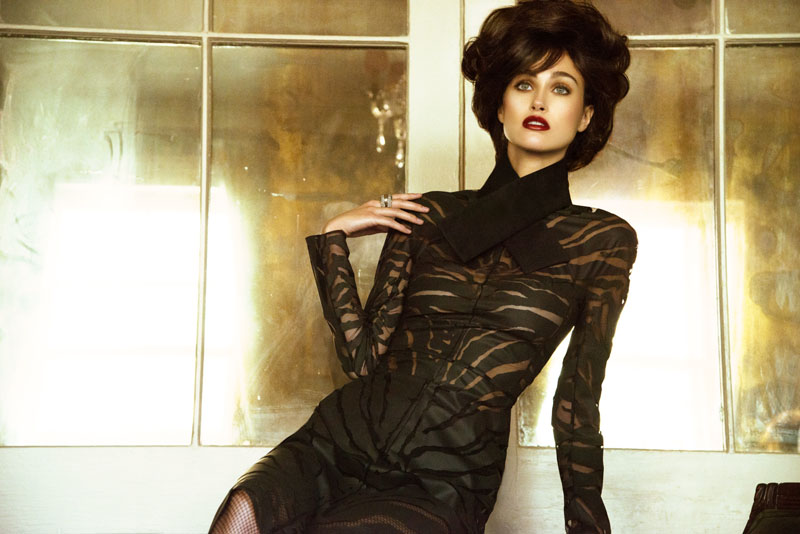 retro glamour4 Sarah English by Jeff Tse in Glam Girl for Fashion Gone Rogue