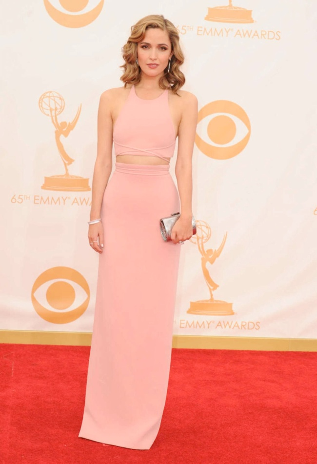 rose byrne calvin klein Kerry Washington in Marchesa, Claire Danes in Armani + More EMMY Award Style