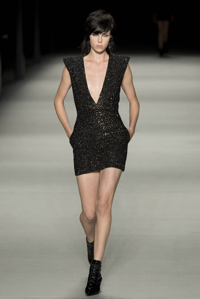 saint laurent spring 2014 1 Saint Laurent Spring/Summer 2014 | Paris Fashion Week
