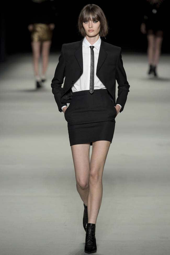saint laurent spring 2014 14 5 Stunning Paris Fashion Week Spring/Summer 2014 Trends