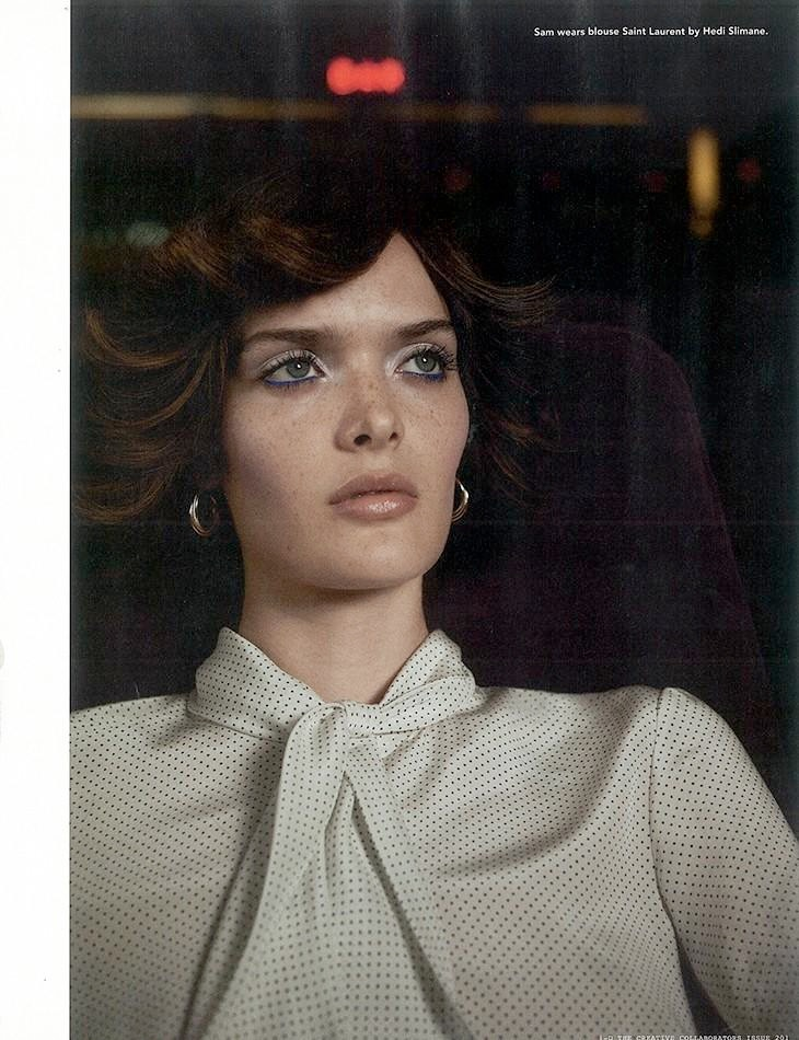 sam rollinson10 Sam Rollinson is 70s Chic for Richard Bush in i D Fall 2013