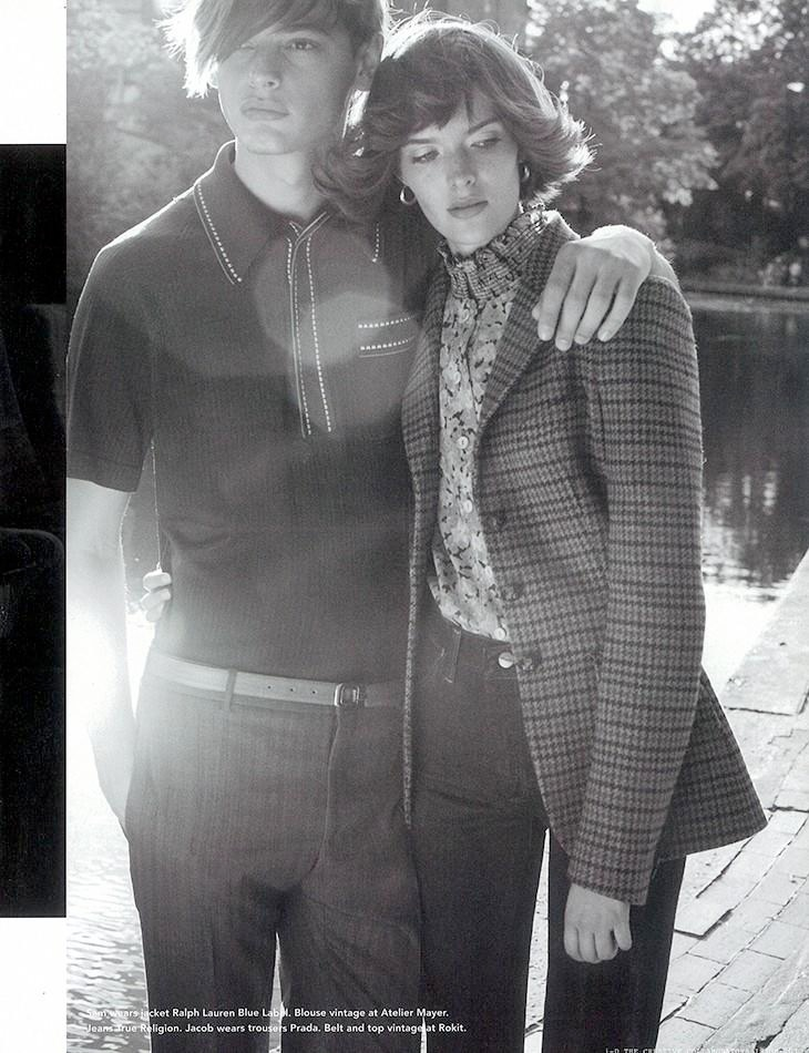 sam rollinson12 Sam Rollinson is 70s Chic for Richard Bush in i D Fall 2013