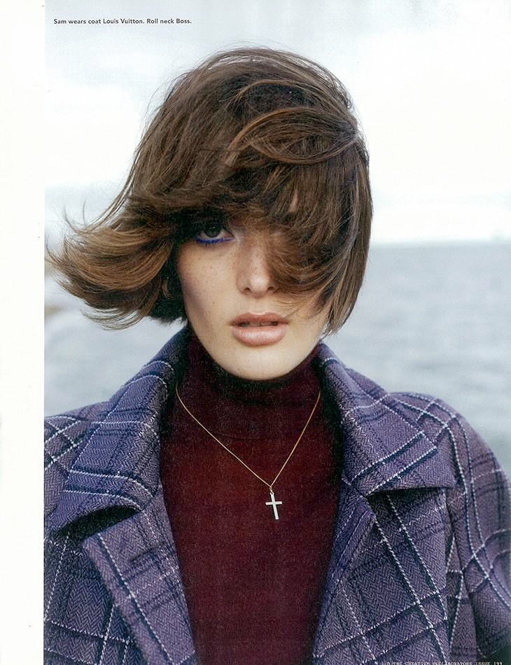 sam rollinson8 Sam Rollinson is 70s Chic for Richard Bush in i D Fall 2013