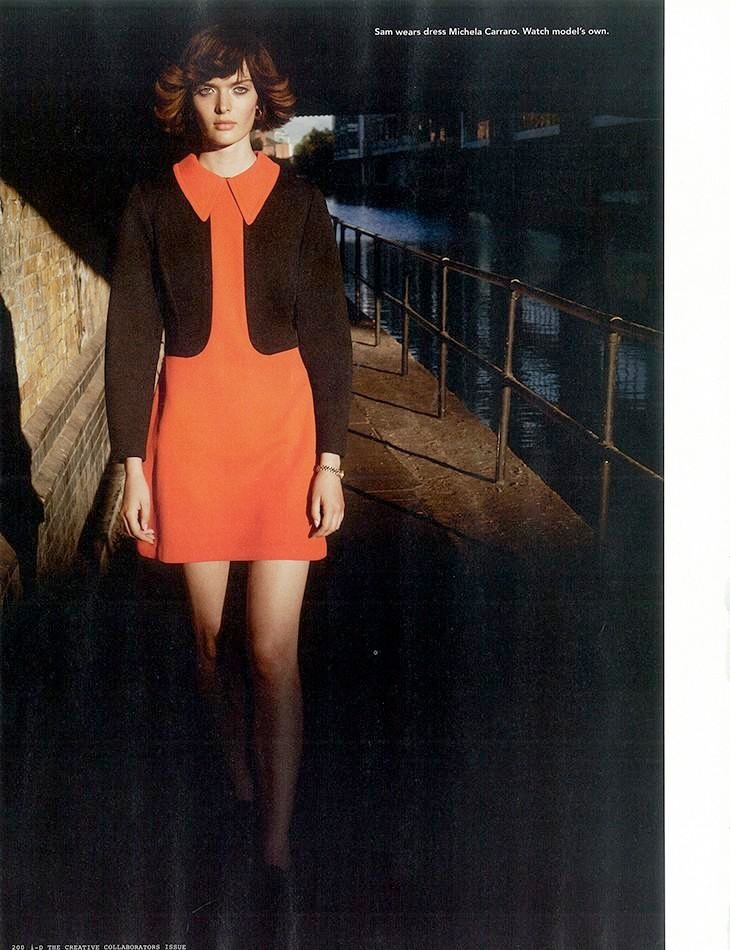 sam rollinson9 Sam Rollinson is 70s Chic for Richard Bush in i D Fall 2013