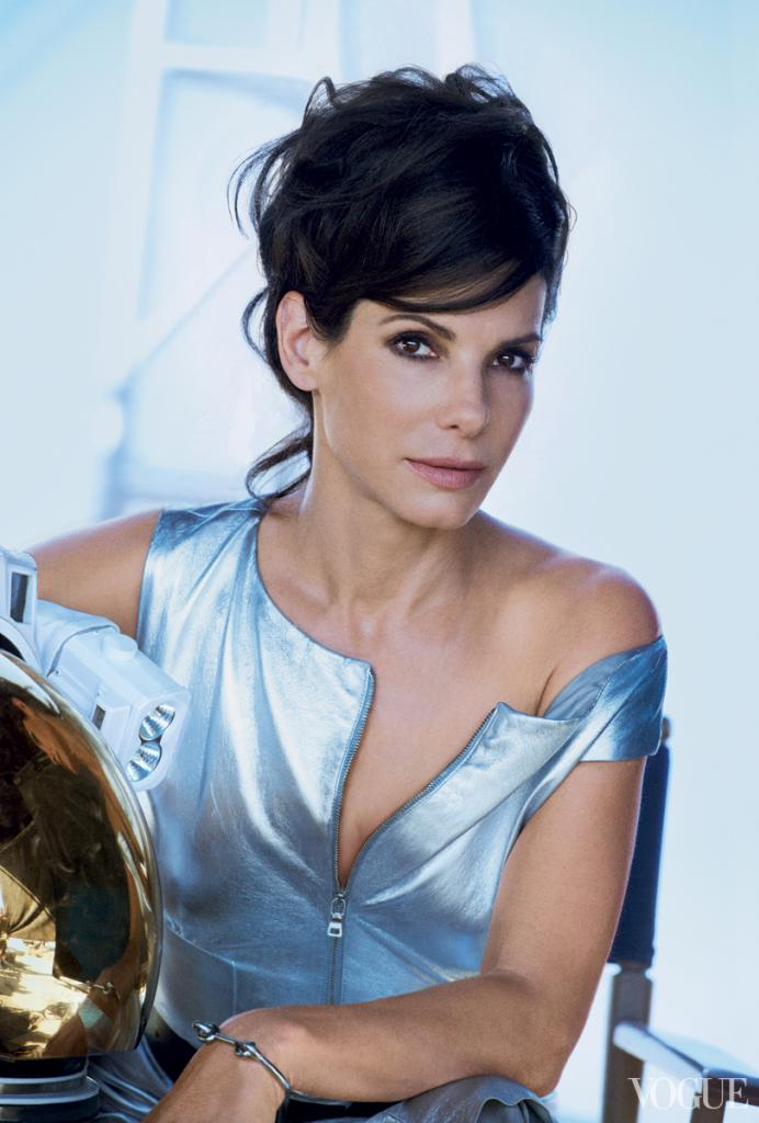 sandra peter lindbergh2 Sandra Bullock Shines in Vogue October Shoot by Peter Lindbergh