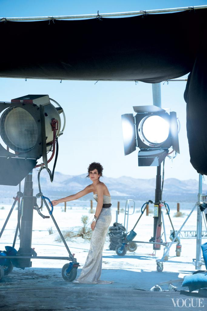 Sandra Bullock Shines in Vogue October Shoot by Peter Lindbergh