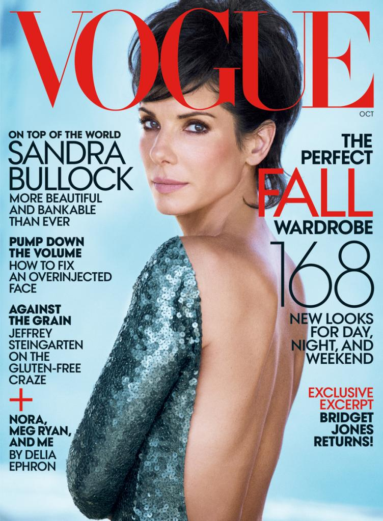 sandra peter lindbergh4 Sandra Bullock Shines in Vogue October Shoot by Peter Lindbergh