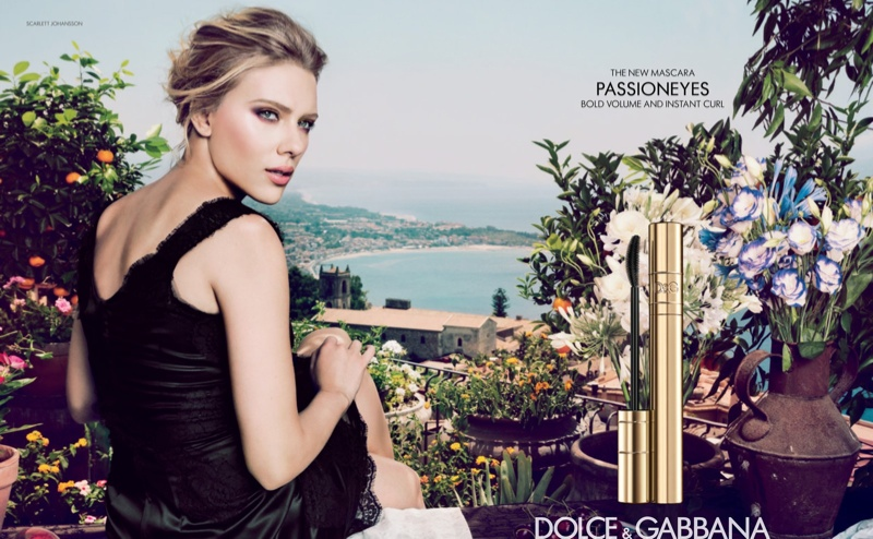 "Scarlett Johansson Stars in Dolce & Gabbana ""Passioneyes"" Campaign"