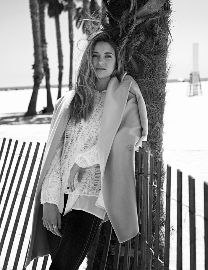 Shailene Woodley Goes Beachside for Flaunt Shoot by Eric Guillemain