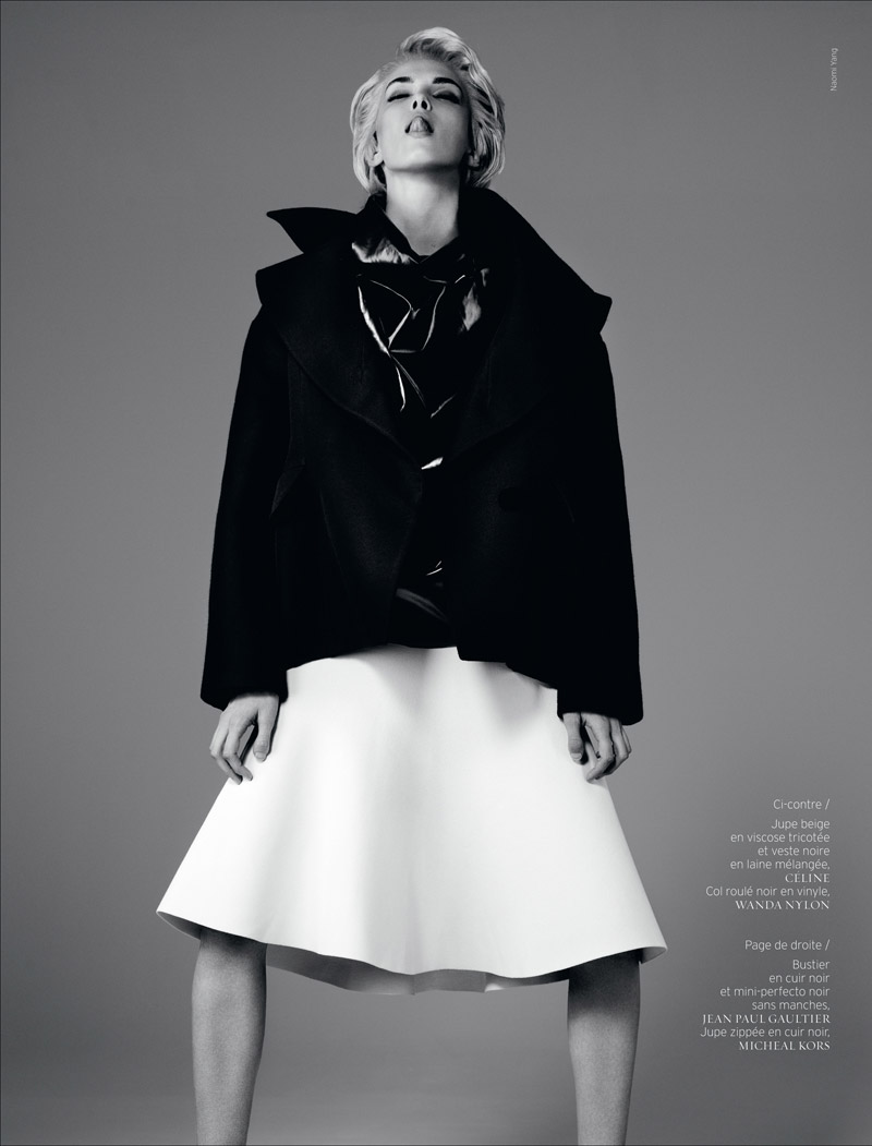 sky is the limit6 Kristina Salinovic is Cutting Edge for French Revue de Modes by Naomi Yang