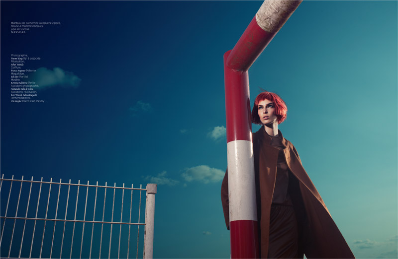 sky is the limit8 Kristina Salinovic is Cutting Edge for French Revue de Modes by Naomi Yang