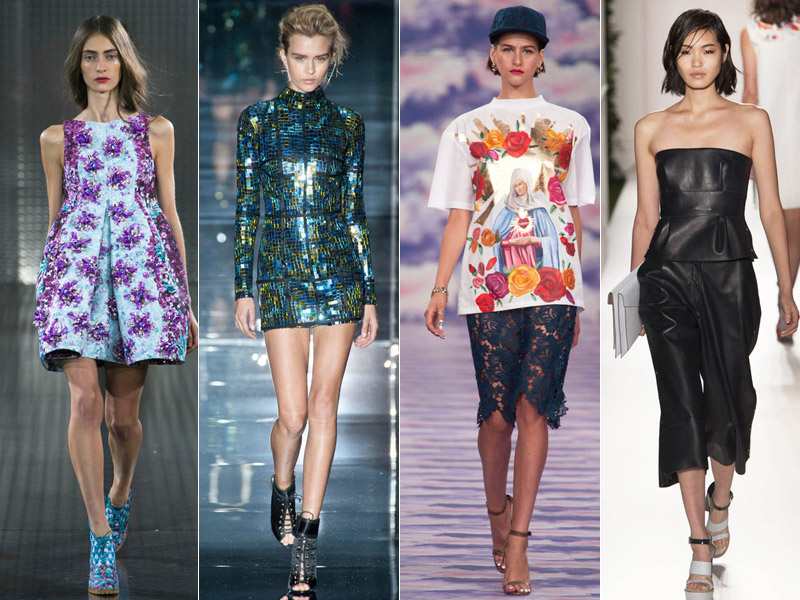 spring runway london trends 4 London Fashion Week Spring 2014 Trends That Inspire