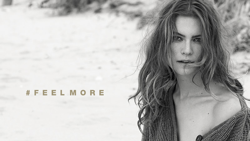 stefanel behati prinsloo ads1 Behati Prinsloo Gets Cozy in Stefanels Fall 2013 Ads