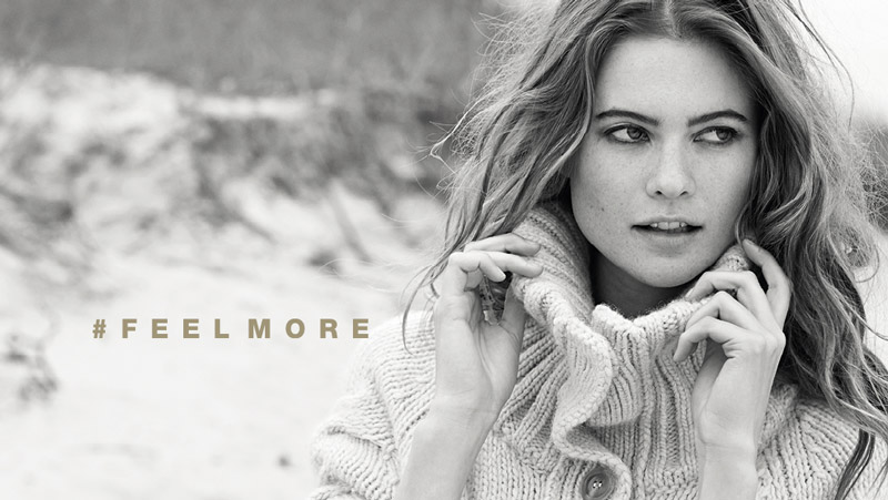 stefanel behati prinsloo ads2 Behati Prinsloo Gets Cozy in Stefanels Fall 2013 Ads