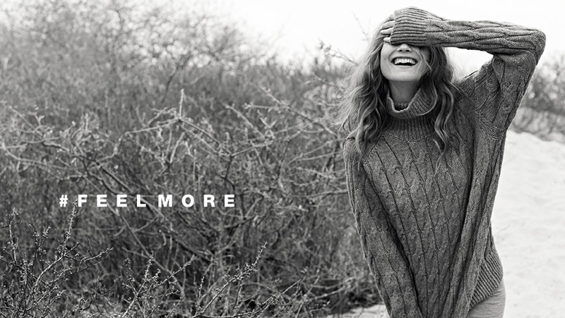 stefanel behati prinsloo ads3 Behati Prinsloo Gets Cozy in Stefanels Fall 2013 Ads