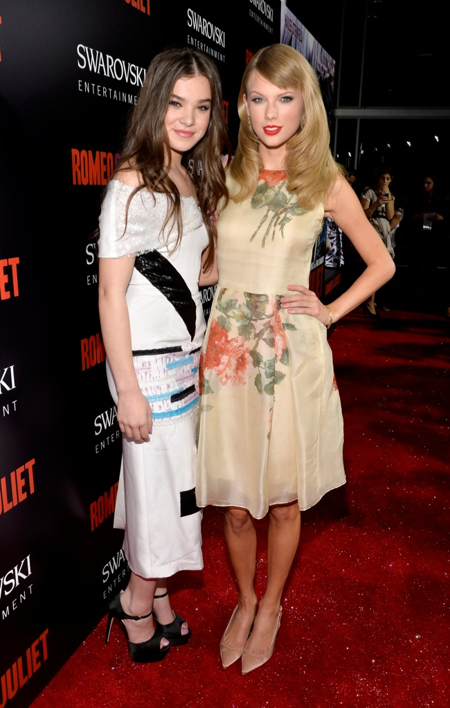 taylor swift reem acra2 Hailee Steinfeld Wears Prabal Gurung at the Romeo & Juliet Premiere