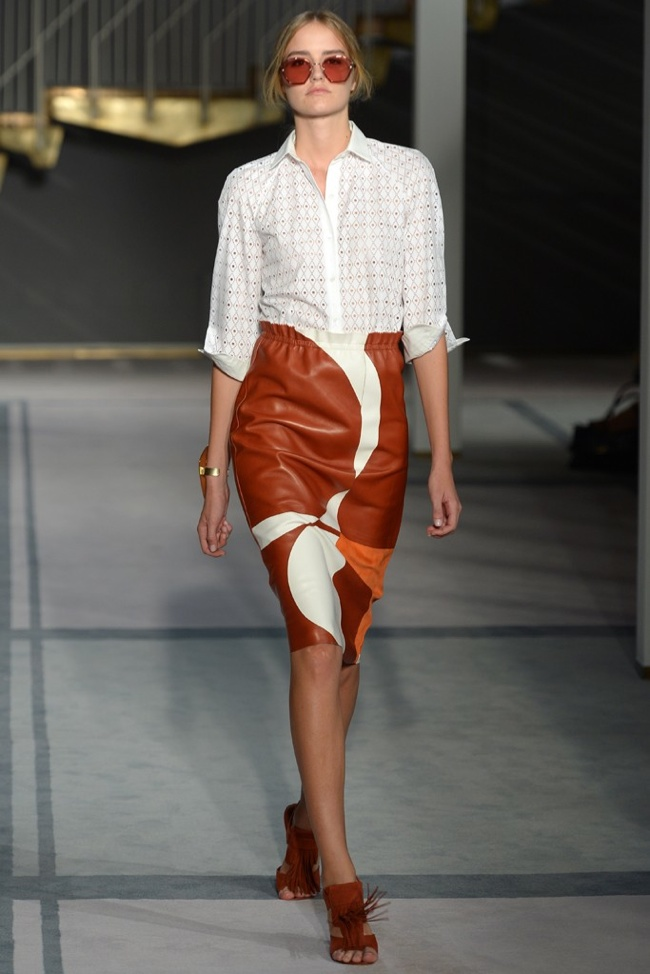 tods Milan Fashion Week Spring/Summer 2014 Day 3 Recap | Versace, Sportmax, Blumarine + More