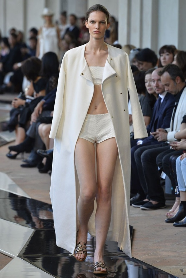 trussardi Milan Fashion Week Spring/Summer 2014 Day 3 Recap | Versace, Sportmax, Blumarine + More