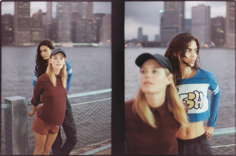 tyrone lebon urban outfitters23 Camille Rowe, Anna Speckhart + More Pose in NYC for Urban Outfitters Shoot