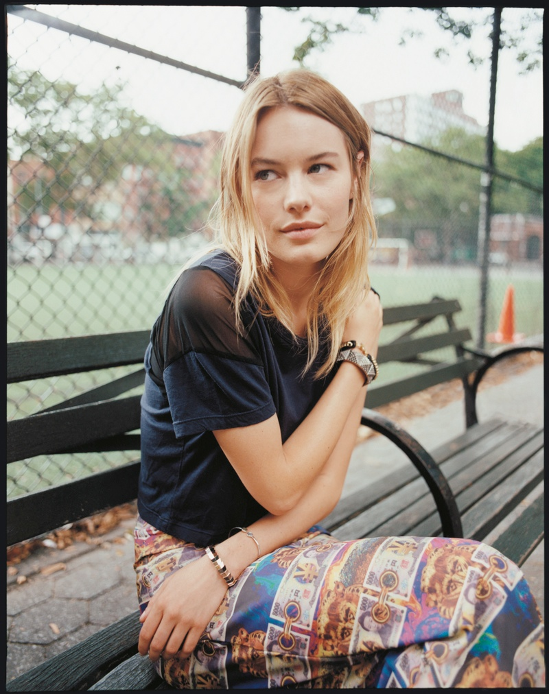 tyrone lebon urban outfitters4 Camille Rowe, Anna Speckhart + More Pose in NYC for Urban Outfitters Shoot