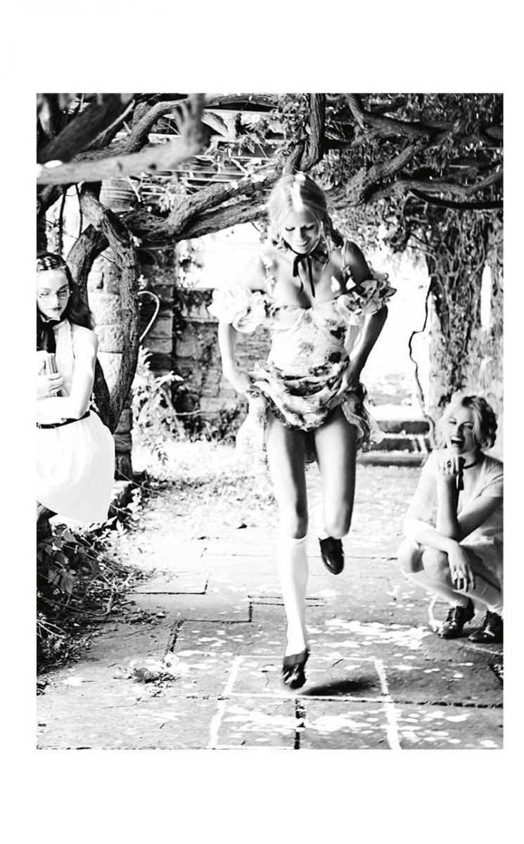 vs magazine ellen von unwerth11 745x1200 Ellen von Unwerth Takes Us Back to School for Vs. Magazine Shoot