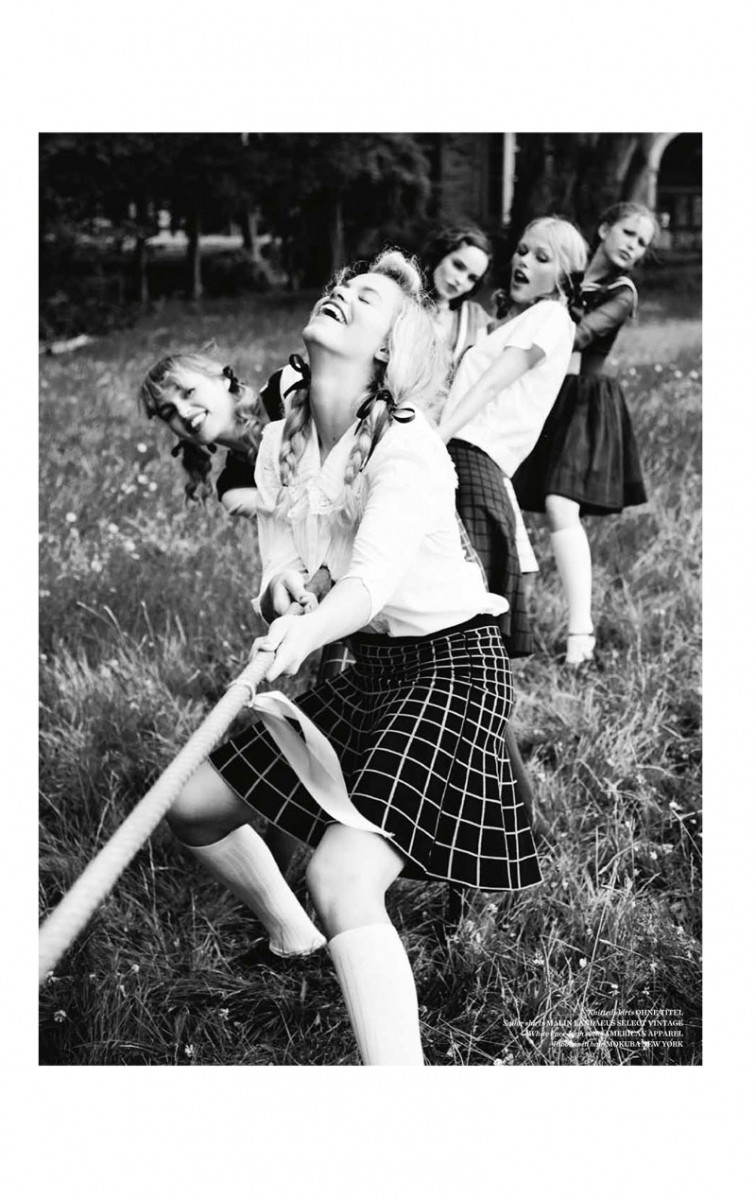 vs magazine ellen von unwerth2 756x1200 Ellen von Unwerth Takes Us Back to School for Vs. Magazine Shoot