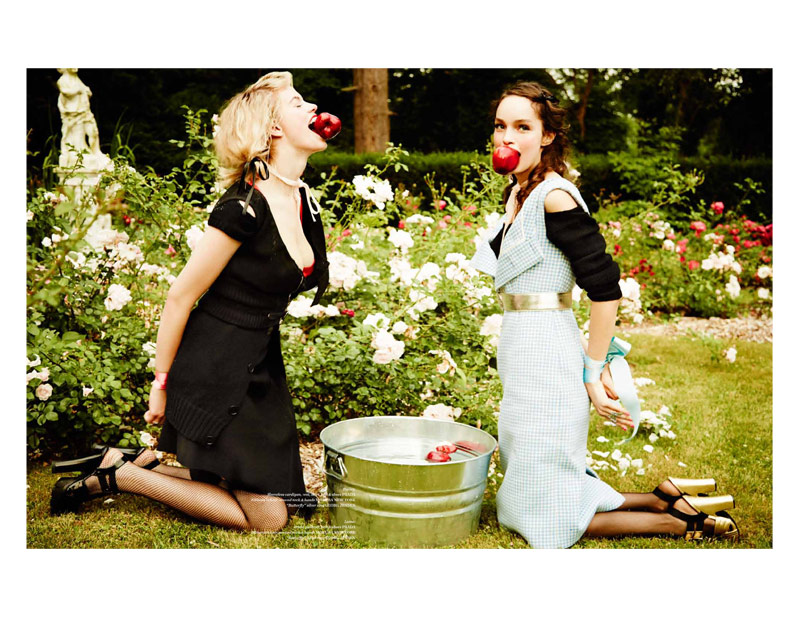vs magazine ellen von unwerth3 Ellen von Unwerth Takes Us Back to School for Vs. Magazine Shoot