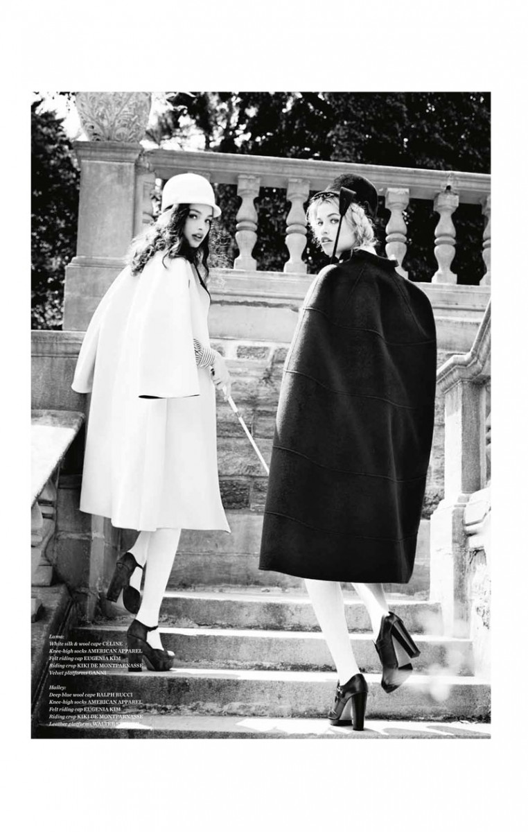 vs magazine ellen von unwerth9 762x1200 Ellen von Unwerth Takes Us Back to School for Vs. Magazine Shoot