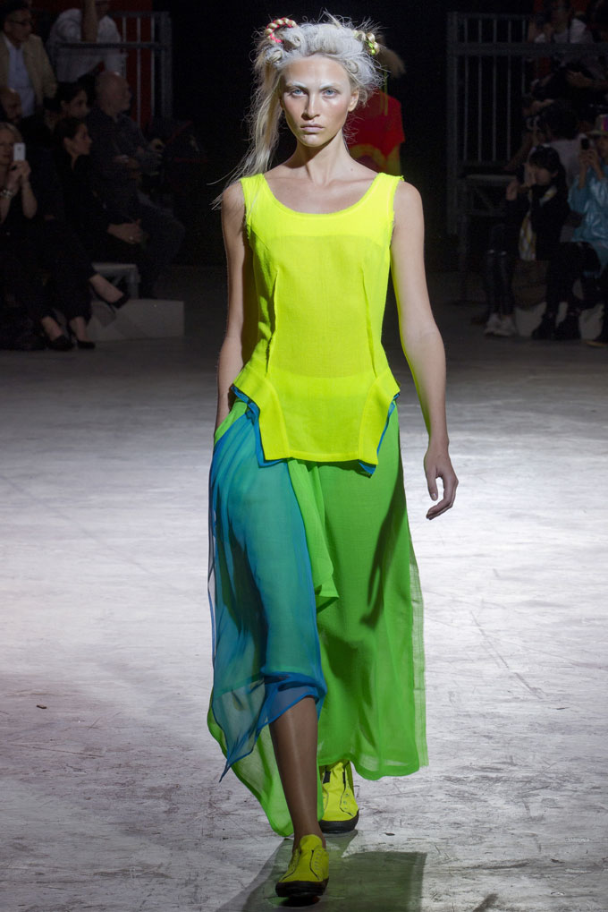 yohji yamamoto Paris Fashion Week Spring/Summer 2014 Day 4 Recap | Dior, Isabel Marant, Sonia Rykiel + More