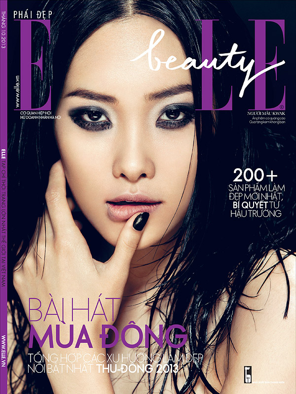zhang jingna beauty1 Kwak Ji Young Poses for Zhang Jingna in Elle Vietnam Beauty Feature
