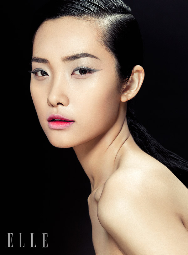 zhang jingna beauty2 Kwak Ji Young Poses for Zhang Jingna in Elle Vietnam Beauty Feature