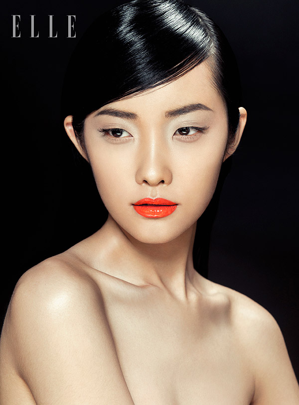 zhang jingna beauty3 Kwak Ji Young Poses for Zhang Jingna in Elle Vietnam Beauty Feature