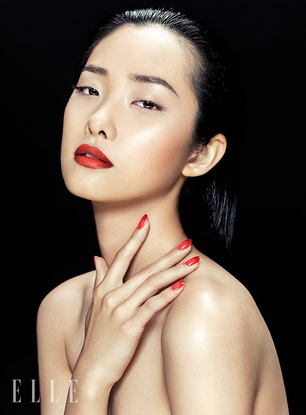 zhang jingna beauty5 Kwak Ji Young Poses for Zhang Jingna in Elle Vietnam Beauty Feature