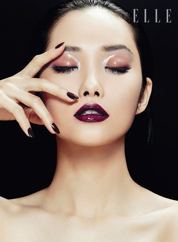 zhang jingna beauty6 Kwak Ji Young Poses for Zhang Jingna in Elle Vietnam Beauty Feature