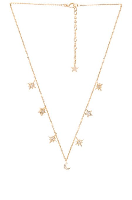 Child of Wild Celestial Stars & Moons Necklace $68