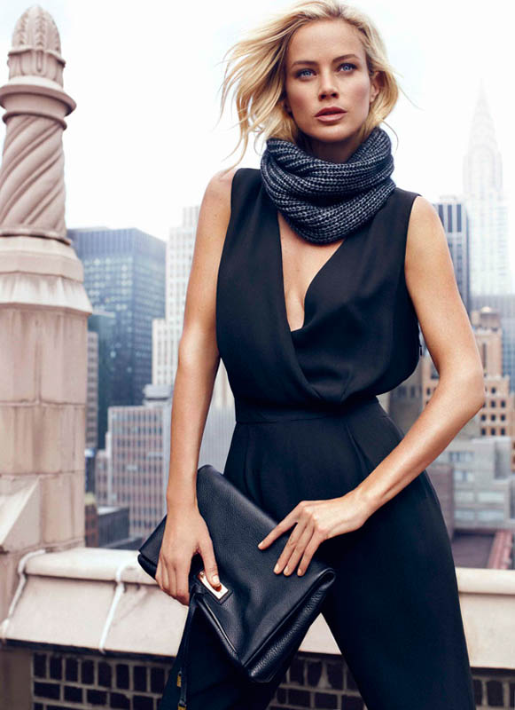 DUT NY FW13 01 wg Carolyn Murphy Fronts Massimo Dutti NYC Fall 2013 Ads by Hunter & Gatti