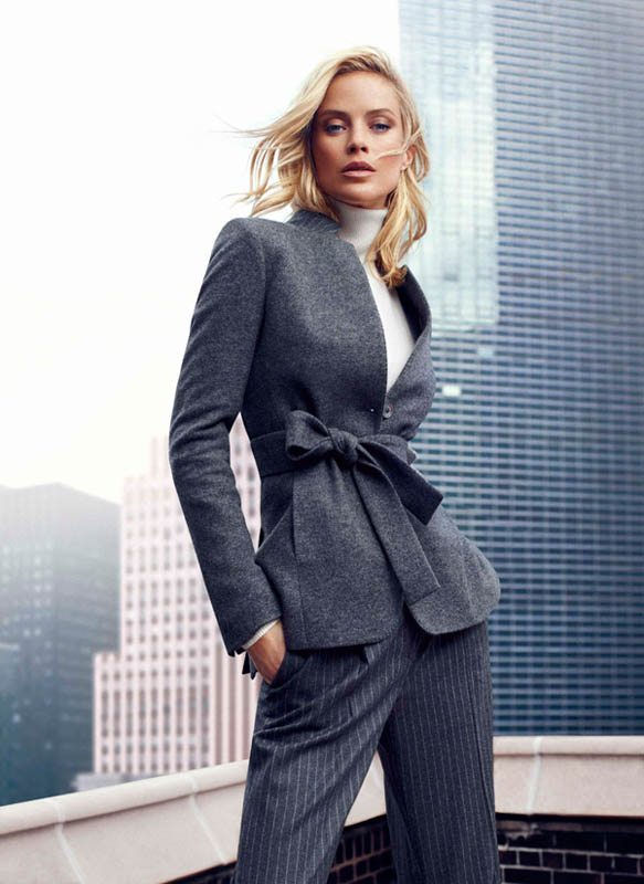 DUT NY FW13 02 wg Carolyn Murphy Fronts Massimo Dutti NYC Fall 2013 Ads by Hunter & Gatti