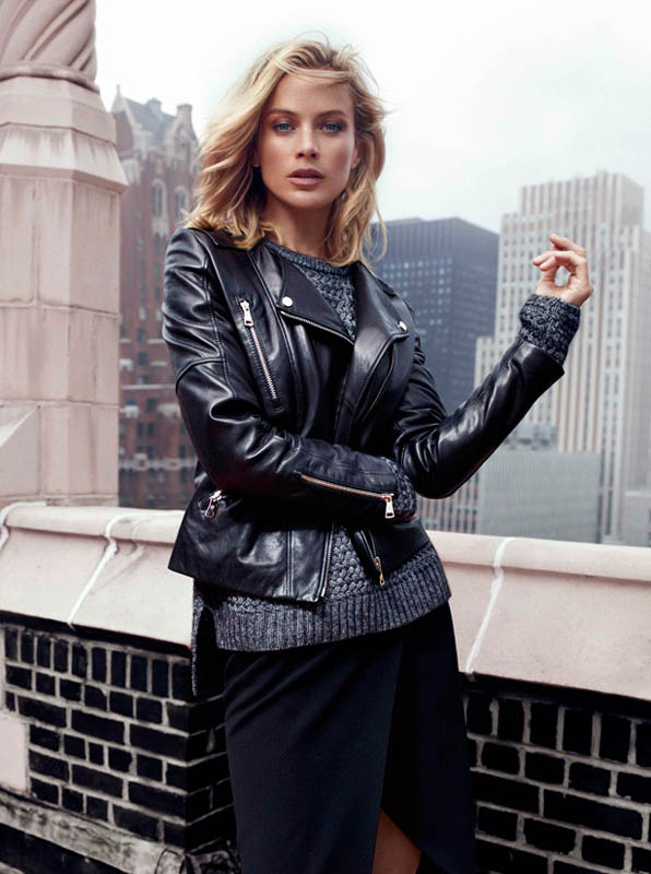 DUT NY FW13 03 wg Carolyn Murphy Fronts Massimo Dutti NYC Fall 2013 Ads by Hunter & Gatti