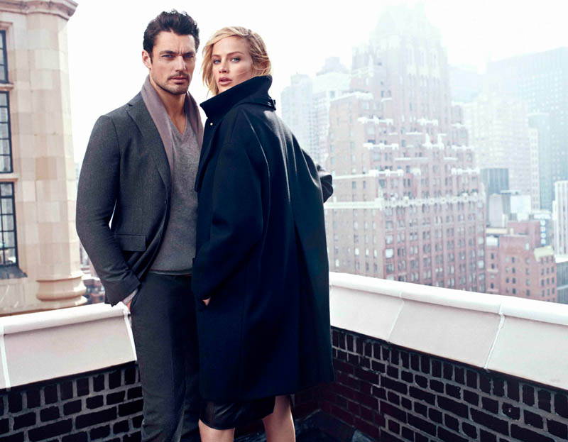 DUT NY FW13 05 B wg Carolyn Murphy Fronts Massimo Dutti NYC Fall 2013 Ads by Hunter & Gatti