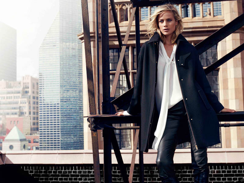 DUT NY FW13 06 wg Carolyn Murphy Fronts Massimo Dutti NYC Fall 2013 Ads by Hunter & Gatti