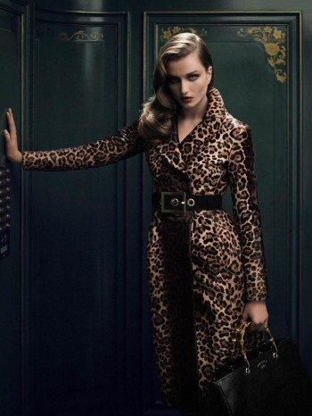 "Andreea Diaconu Stars in Gucci ""Bamboo Confidential"" by Benjamin Grillon"