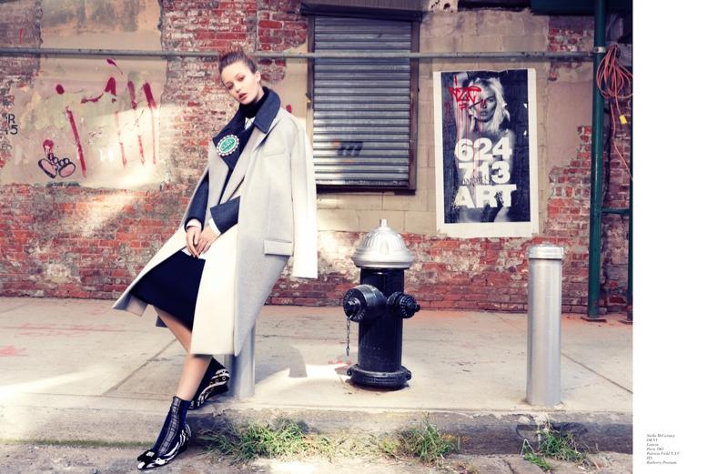 Kristina Romanova is a City Girl for Stockton Johnson in Modern Media