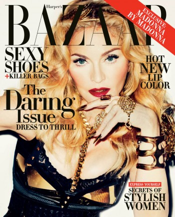 Madonna Covers Harper's Bazaar November 2013 by Terry Richardson