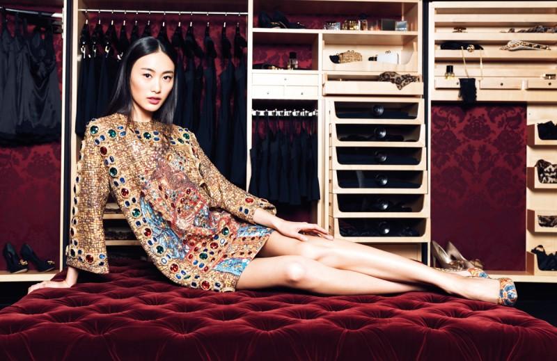 Shu Pei, Miao Bin Si + More Pose for Stockton Johnson in Elle China 25th Anniversary Issue