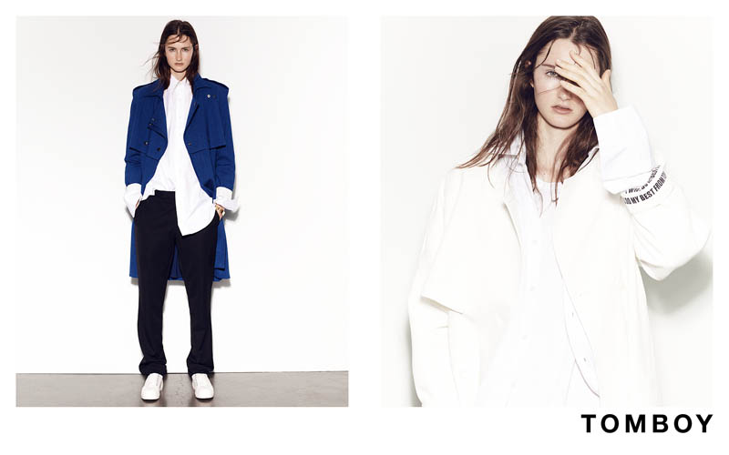 TOMBOY 2013FW 2 Mackenzie Drazan is the New Face of Tomboys Fall 2013 Campaign