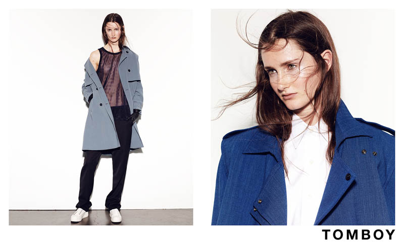 TOMBOY 2013FW 4 Mackenzie Drazan is the New Face of Tomboys Fall 2013 Campaign