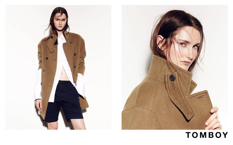 Mackenzie Drazan is the New Face of Tomboy's Fall 2013 Campaign