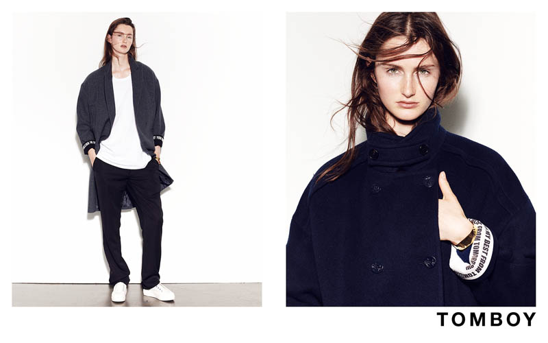 TOMBOY 2013FW 8 Mackenzie Drazan is the New Face of Tomboys Fall 2013 Campaign
