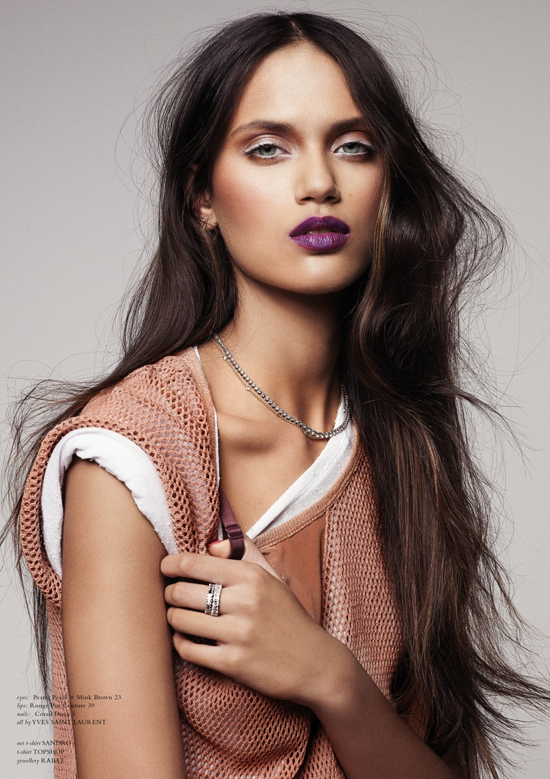 Delianah Arekjon Is Sweet & Sour for Horse Magazine #3 by Vladimir Marti